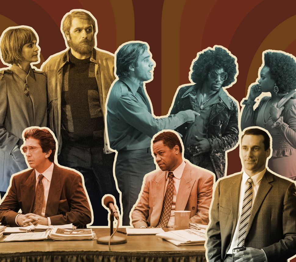 Get Me Rewind: Why Current Hit TV Series Live in the Past