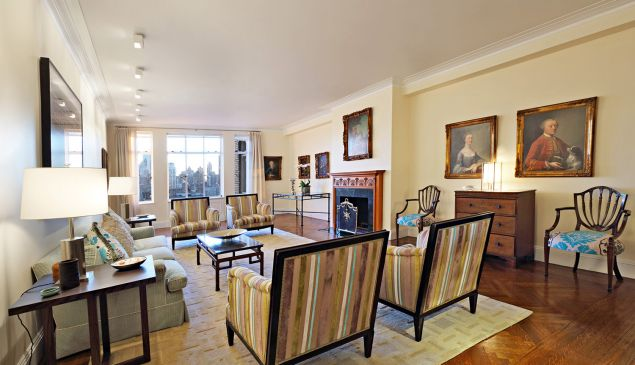 A top-floor spread at the historic Beresford on Central Park West