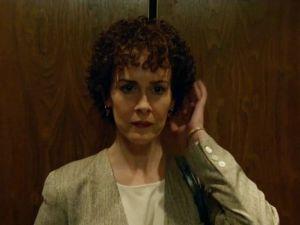 Sarah Paulson as Marcia Clark on The People V. O.J. Simpson: American Crime Story.