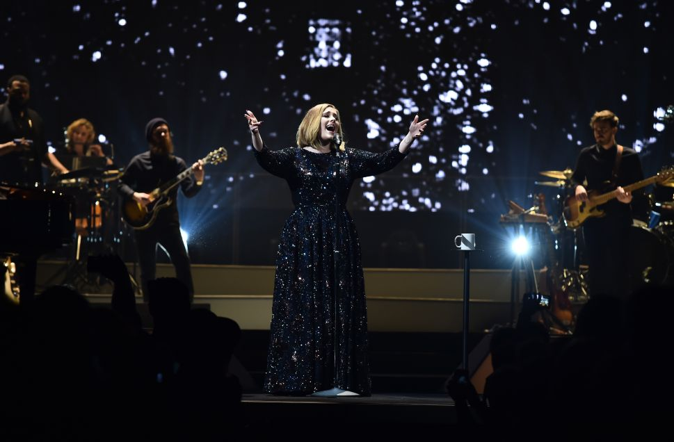 Adele Will Exclusively Wear Burberry on Her World Tour