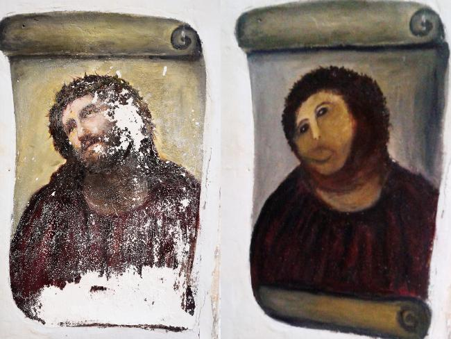 Botched Fresco Restoration Saved a Spanish Town