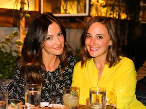 Minka Kelly joins American Express and The Infatuation at the #AmexGold Private Dinner Party Series at Estrella.