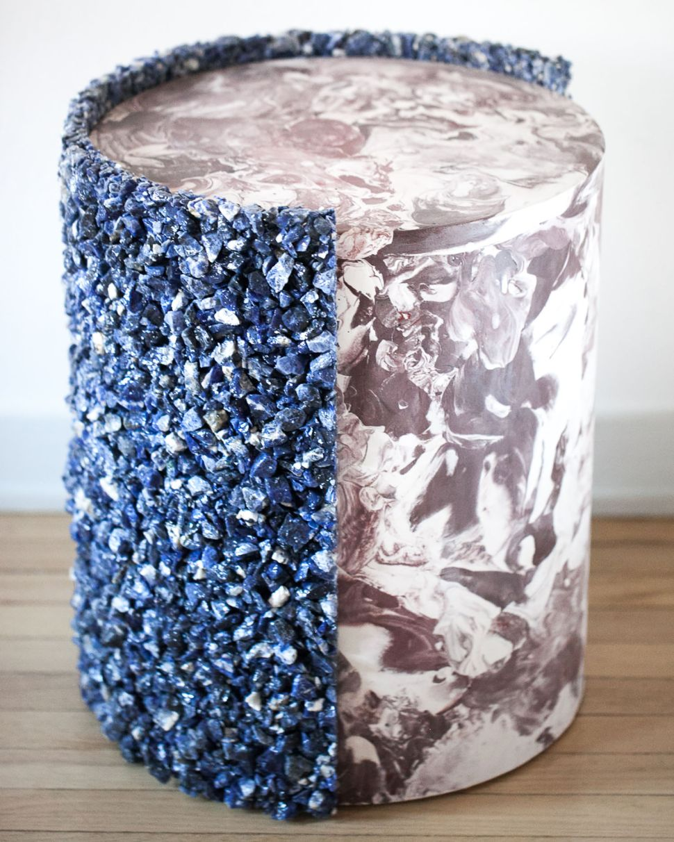 Be Jeweled With Amoia Studio's Glamorous Side Table