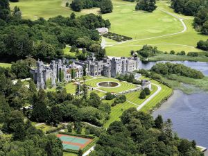 Ashford Castle grounds.