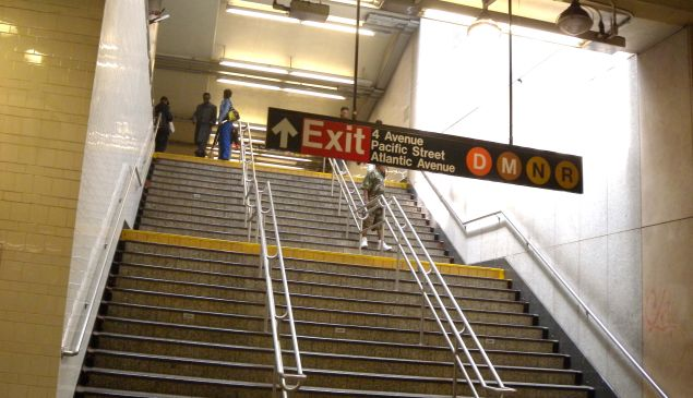 The New York City subway can be daunting for disabled and elderly passengers.