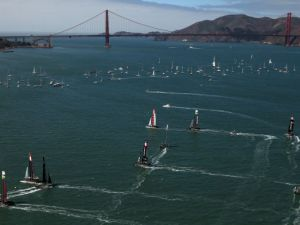 The risk of ocean radiation in the Pacific is slim to none, so anyone who wants to sail in San Francisco has one less thing to worry about.