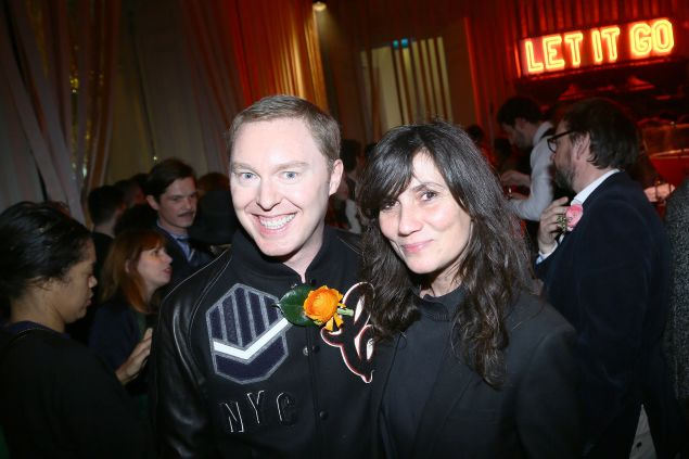 Stuart Vevers and Emmanuelle Alt