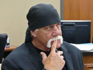 Hulk Hogan at his trial.