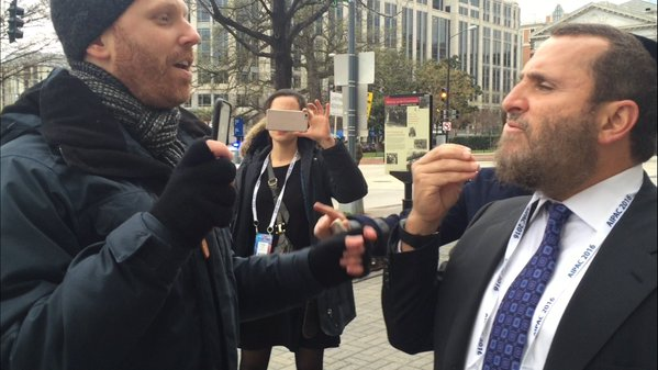 Max Blumenthal Attacked Me Outside of AIPAC
