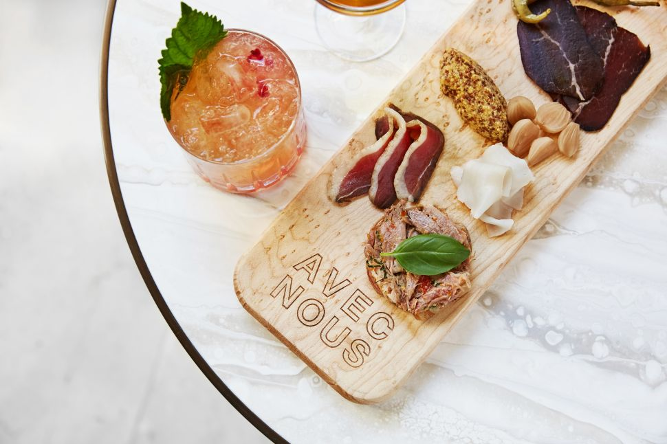 Former Bar Boulud Chef Olivier Quignon Opens Avec Nous in Beverly Hills