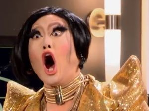 "Let me see your ""Oh-Face"": This week on Rupaul's Drag Race."