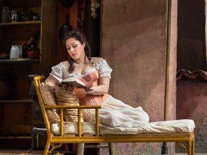 Eleonora Burrato as Norina in Donizetti's Don Pasquale.