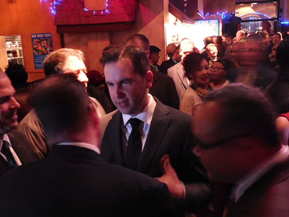 Fulop Draws Huge Crowd at Low Cost Fundraiser