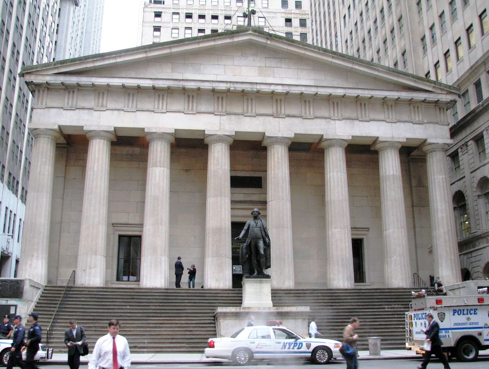 New Art Fair to Occupy Wall Street's Federal Hall Building This Spring