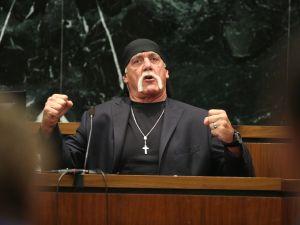 Hulk Hogan on the stand yesterday.