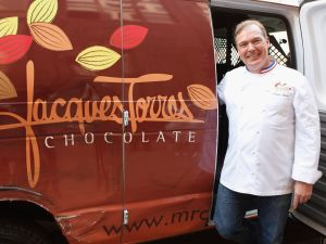 We do hope that famed chocolatier Jacques Torres isn't entirely leaving the city.