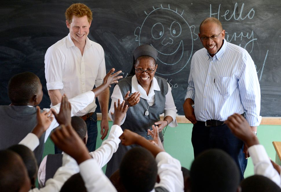 Prince Harry's Next Destination Might Be Law School