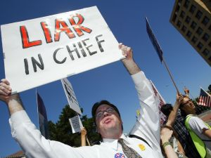 Politicians used to question a foe's honesty without calling them liars.