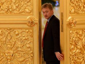 Vladimir Putin's spokesman Dmitry Peskov attends a meeting in the Kremlin in Moscow, on December 25, 2013.