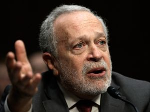 """Former U.S. Labor Secretary Robert Reich testifies before the Joint Economic Committee January 16, 2014 in Washington, DC. Reich joined a panel testifying on the topic of """"Income Inequality in the United States."""