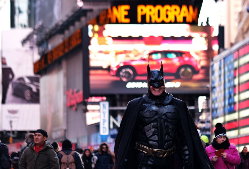 Batman Vs. Naked Cowboy: The Fight Over Taming Times Square