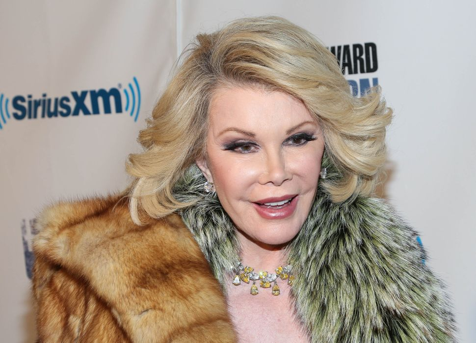 Joan Rivers' Art Collection Heads to Auction, Protest Stirs Over V&A Photos—and More
