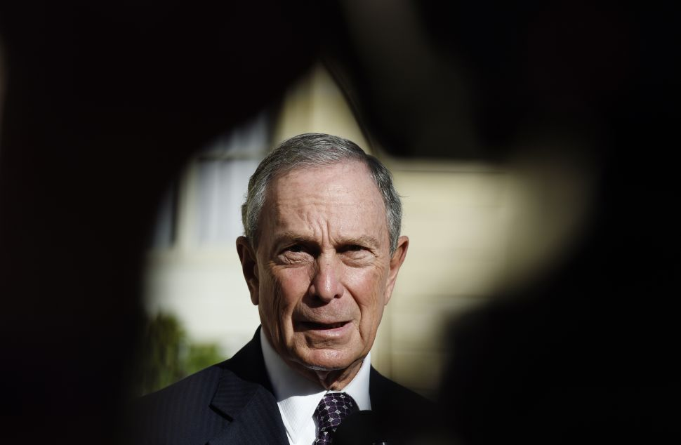 Michael Bloomberg Won't Run for President and Really Hates Donald Trump