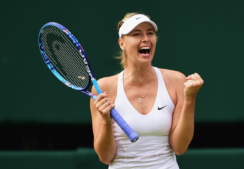 Maria Sharapova Reveals a Failed Drug Test During Press Conference