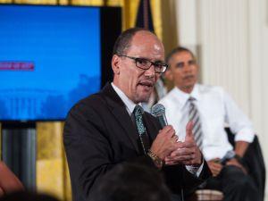 Labor Secretary Thomas Perez with President Barack Obama.