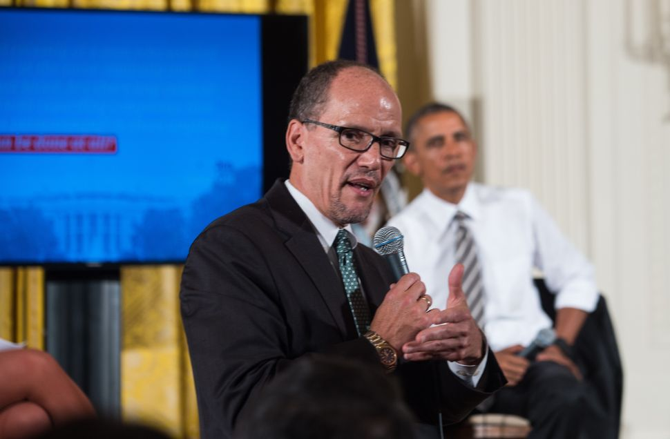 Obama Labor Secretary—and Rumored VP Candidate—Talks 'Unfinished Business'