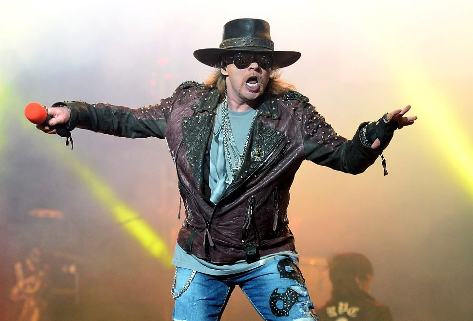 Axl Rose + AC/DC: Let's Do the Math
