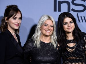 Dakota Johnson, Kate Young and Selena Gomez