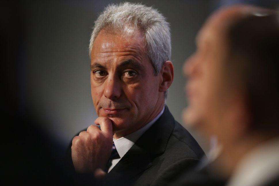 Why America's Worst Mayor, Rahm Emanuel, Loves Hillary Clinton