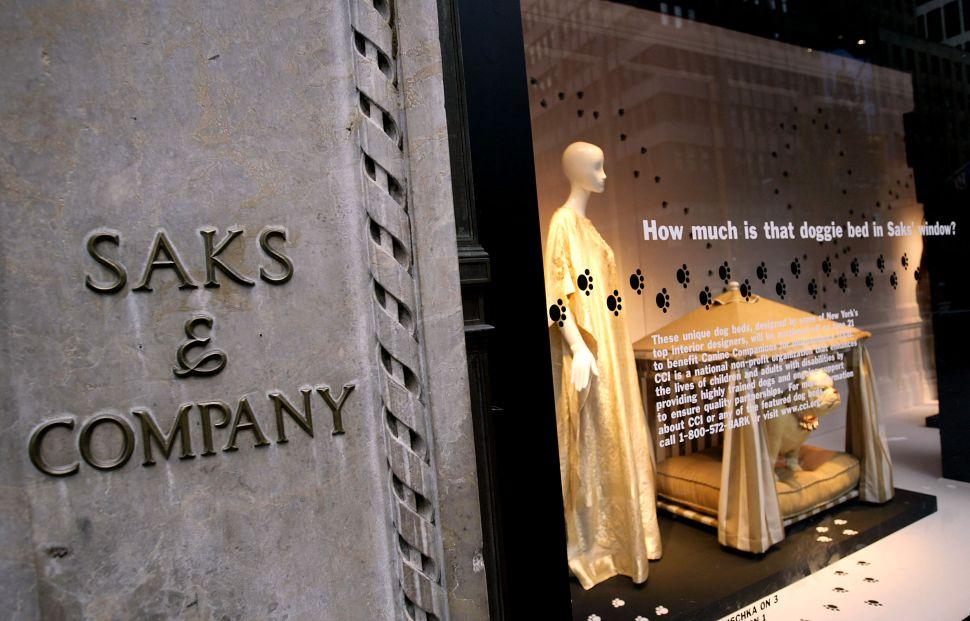 Saks Fifth Avenue Is Opening Their Sales Floor to Emerging Designers