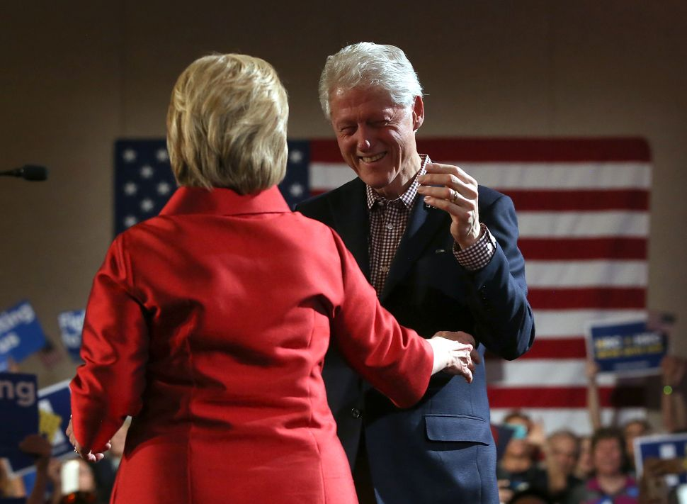 No Shame for Bill and Hillary: Entitlement Has No Boundaries