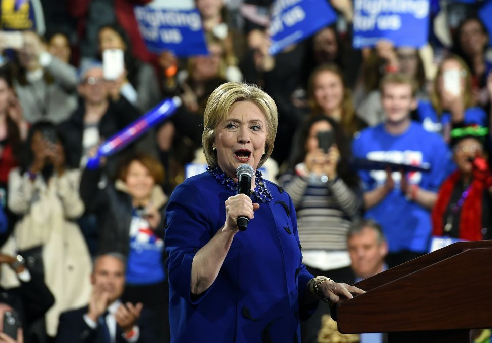 Following Super Tuesday, Hillary Clinton Trains Her Fire Squarely at Donald Trump