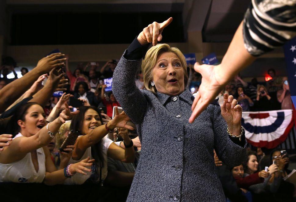 Hillary Clinton Just Won Florida