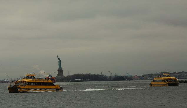 The new ferry system will be integrated with the East River Ferry