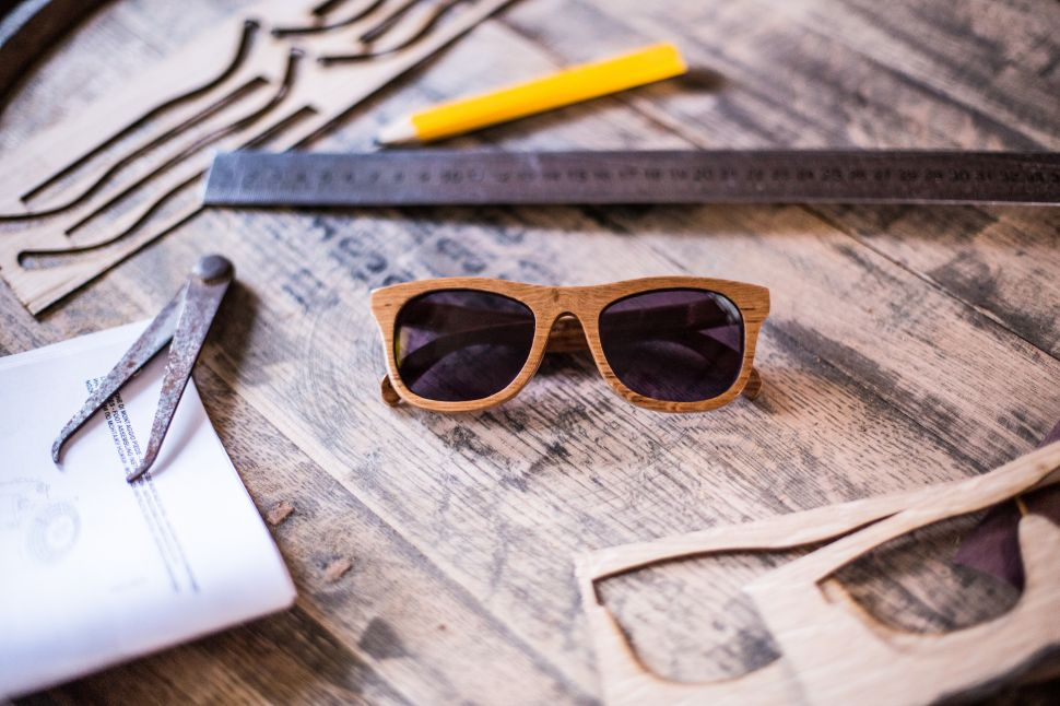 These Limited Edition Wooden Sunglasses Are Made From Aged Whisky Casks