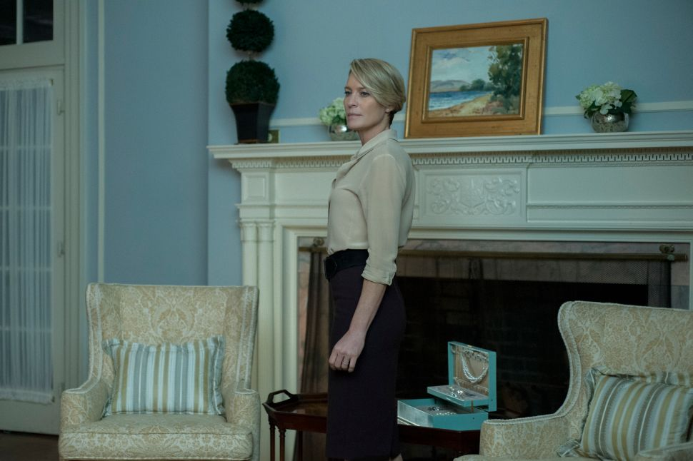 Woman of Steel: Season 4 of 'House of Cards' Belongs to Claire Underwood
