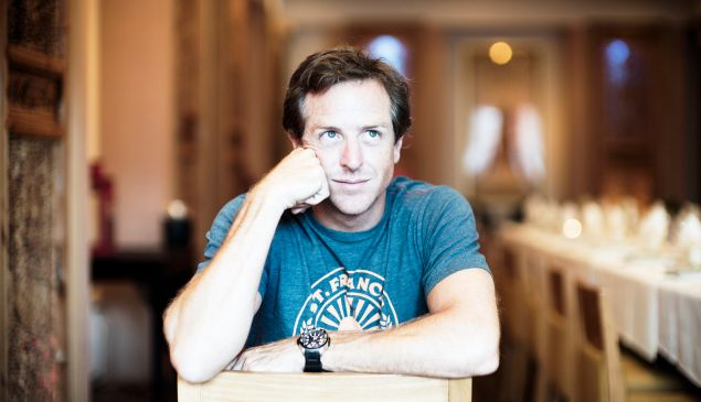 The author, Hugh Howey.