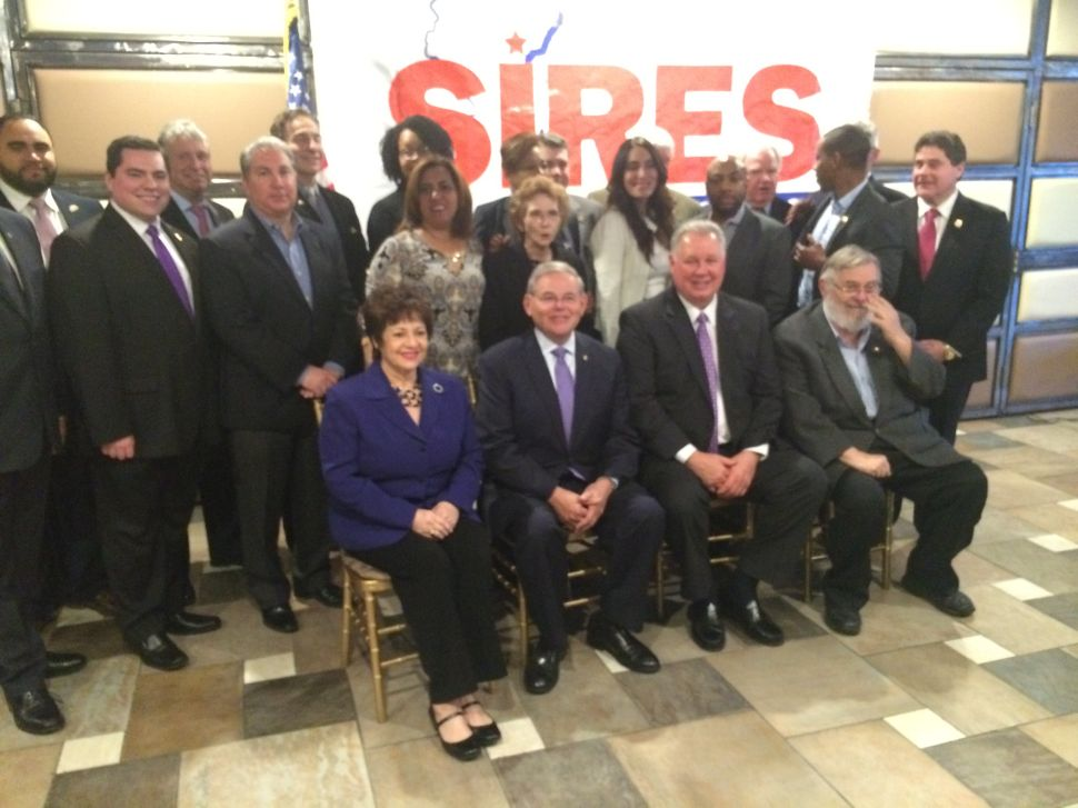 Sires Launches Reelection Bid in CD8