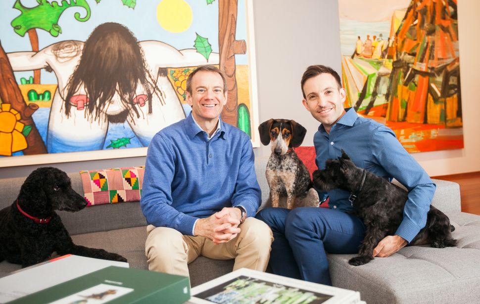At Home With Art Collectors Greg Miller and Michael Wiener