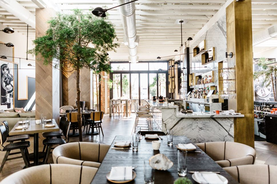 West Hollywood's Sexiest New Restaurant