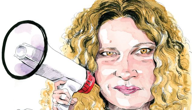 Celebrated feminist writer Katie Roiphe.