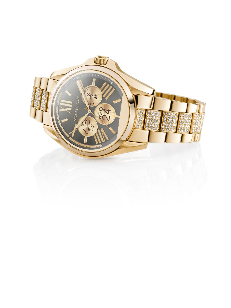 The Classic Michael Kors Watch Receives a Digital Update