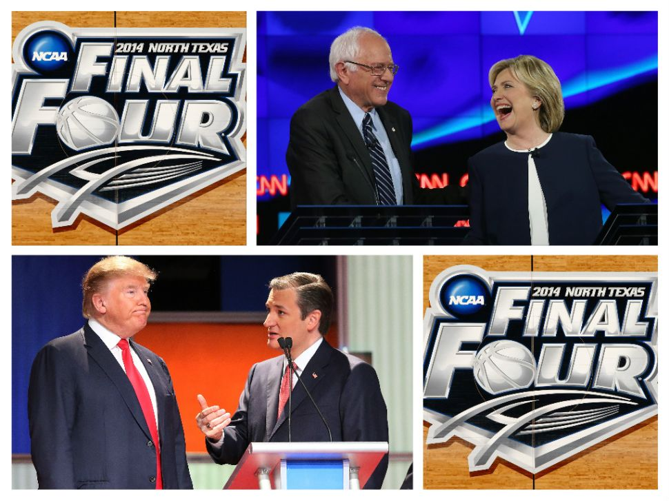 Why Not Have Some 'Final Four' Debates With Trump, Clinton, Cruz and Sanders?