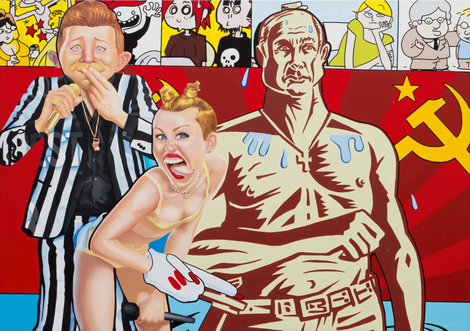 European Pop Art, More Political Than Ours, Returns With Erro at Perrotin