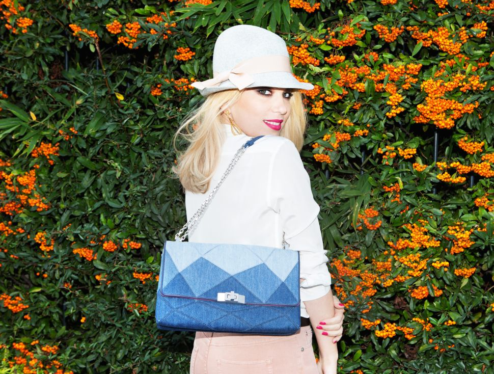 French Stylist Camille Seydoux Discusses Her Denim Collab with Roger Vivier