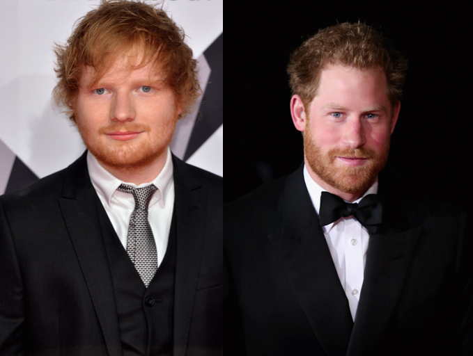 Understanding the Differences Between Prince Harry and Ed Sheeran